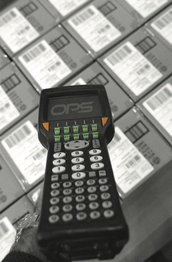 OPSdesign package scanner Supply Chain Information Systems Specification and Selection